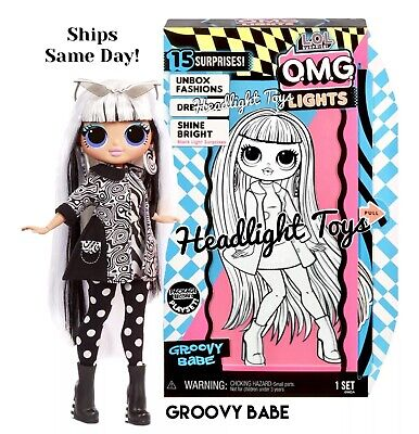 LOL Surprise OMG Lights GROOVY BABE Doll Brand New
