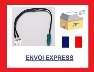 Cable Adaptateur Fakra pour Antenne Adapter VW Seat RNS RCD 315 510 Audi Skoda