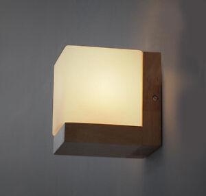 diy wall lighting. Image Is Loading Comfort-Solid-Wood-Wall-Lamp-Glass-Cover-Light- Diy Wall Lighting L