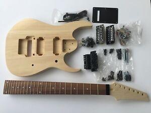 new diy electric guitar kit 7 string build your own guitar 685867991106 ebay. Black Bedroom Furniture Sets. Home Design Ideas