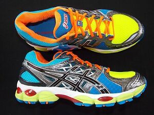 asics gel nimbus 14 mens running shoes t241n 4200