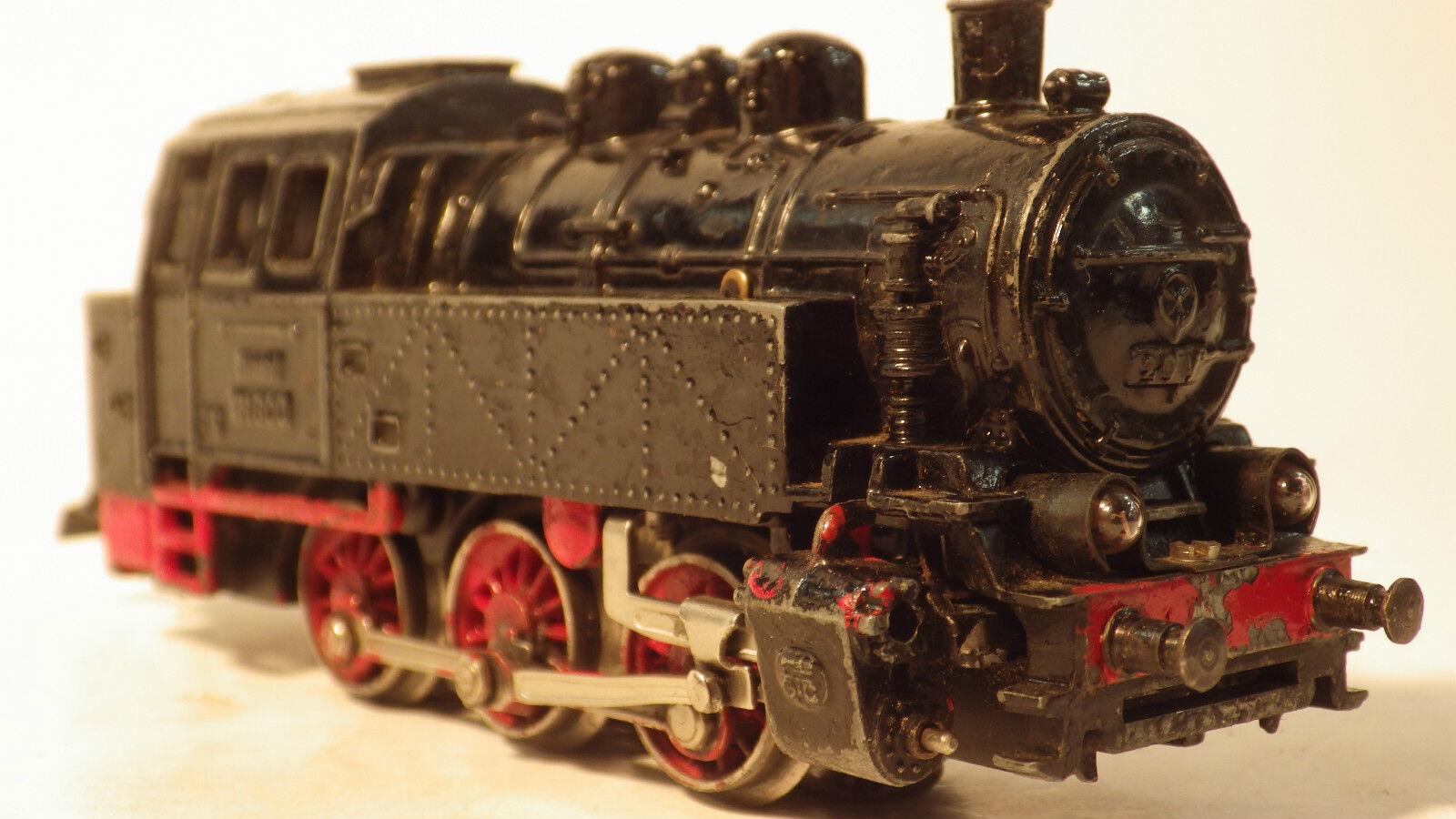 Märklin 3004 h0, rangierlokomotive TM  800 v20, BR 80 the DB, Ep. III, md5, read  design unique
