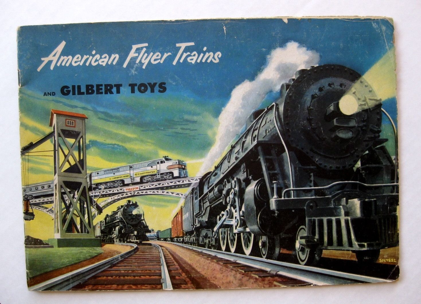 Super Cool 1952 American Flyer Electric Train Catalog