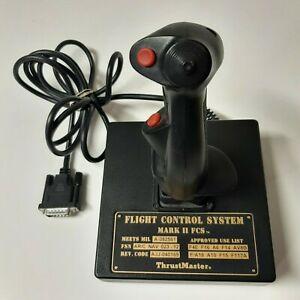 Thrust Master MARK 2 FCS Controller Flight Control System Vintage