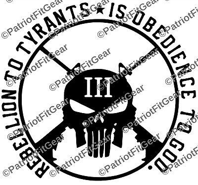 "Sic Semper Tyrannis,Flag,/""Death To Tyrants/"",Molon Labe,2A,Stickers,Vinyl Decal"