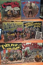 """6 LP LOT R. Crumb Cover """"EVER FELT THE PAIN"""" """"EAST RIVER STRING BAND"""" $123 VALUE"""
