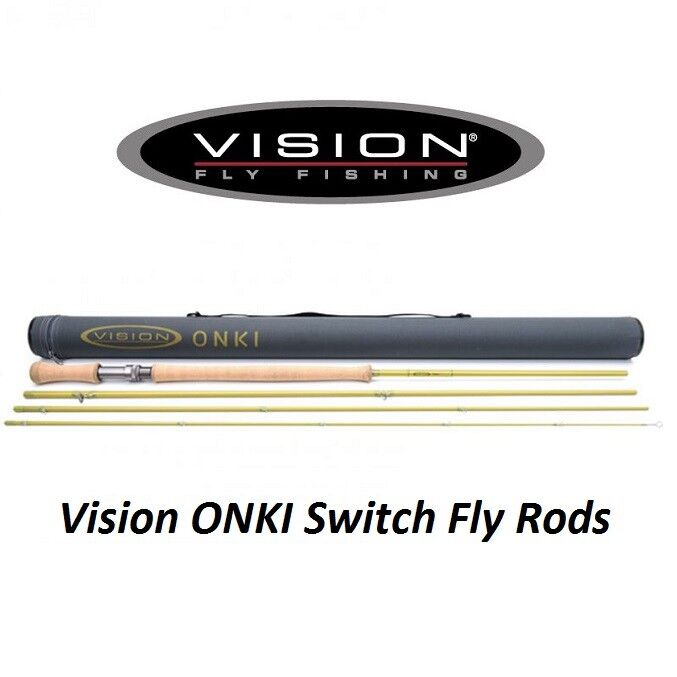 Vision ONKI SWITCH Fly Rod 11' (VON4116)  New For 2018  Free Postage