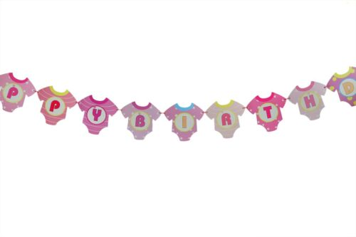 AU 2.2m  Happy Birthday Bunting Garland Flags Party Decoration Hanging Banner