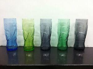 Bicchiere Coca Cola glass McDonald's 2008 NERO
