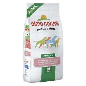 Almo-Nature-Holistic-Medium-Adult-Dog-12-kg-Salmone-e-Riso-per-Cani
