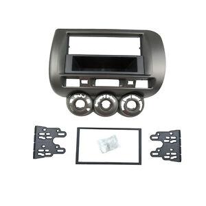 Car-Radio-Fascia-for-Honda-Jazz-Stereo-Panel-Dash-Install-Trim-Kit-One-Din-Facia