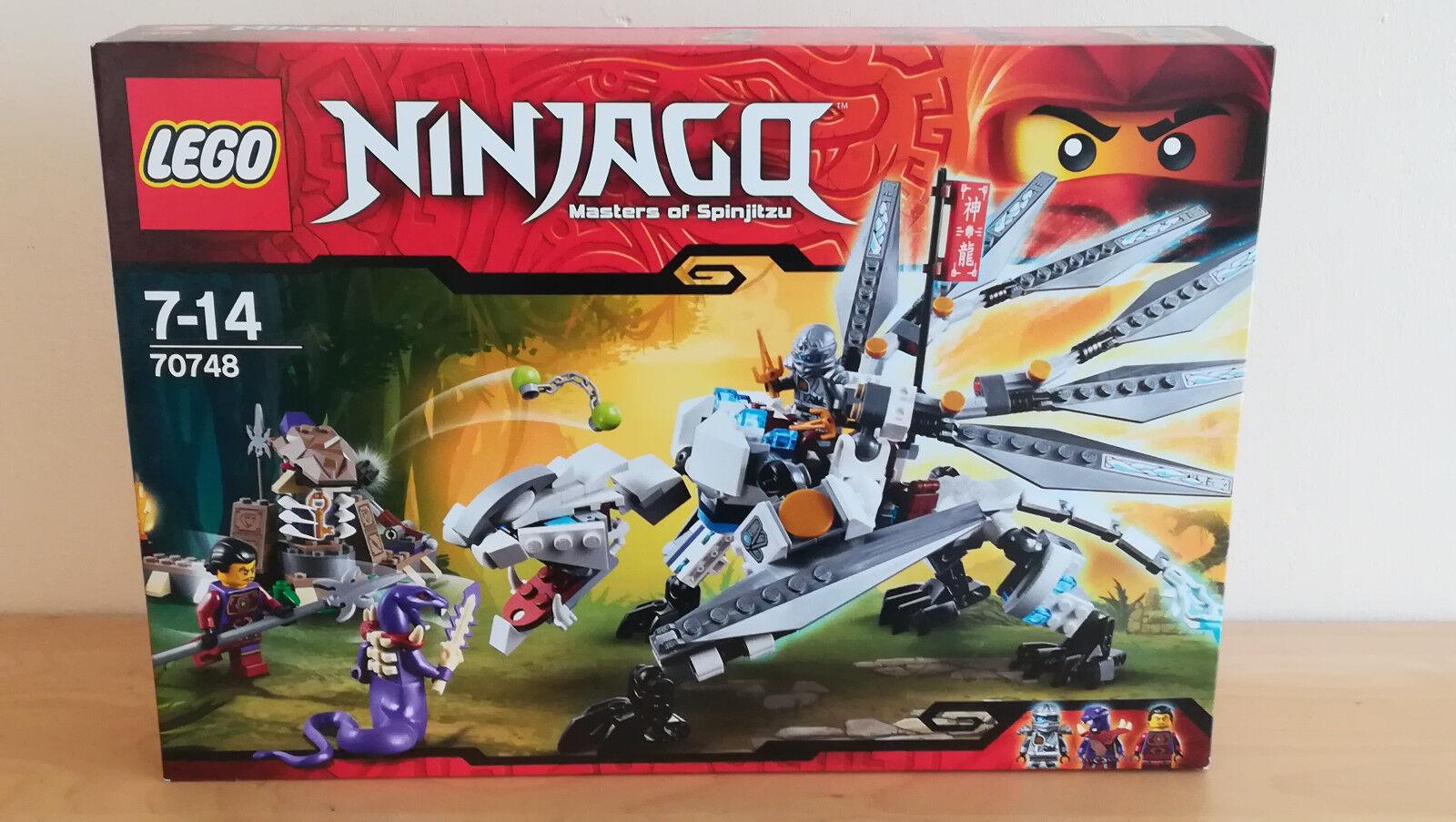 LEGO Ninjago 70748 TITANIO Dragon-Brand new_2 - Torneo di elementi