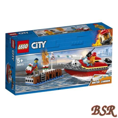 LEGO® City 60213 Feuerwehr am Hafen NEU /& OVP !