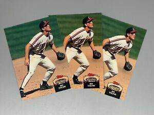 Jim-Thome-1992-Topps-Stadium-Club-3-Card-Lot-360-Cleveland-Indians