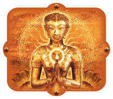 Custom sitting buddha ladies mouse mat personalised with any text and gift message \u2013 ref mo3-1