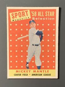 1958-Topps-487-Mickey-Mantle-All-Star-EXMT-New-York-Yankees-HOF