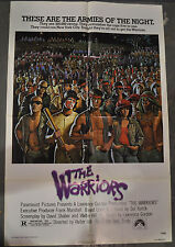 THE WARRIORS 1979 ORIGINAL 27X41 NM MOVIE POSTER MICHAEL BECK JAMES REMAR