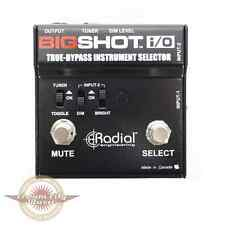Brand New Radial Engineering BigShot i/O Instrument Selector Pedal