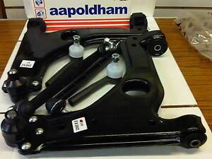 VAUXHALL-ASTRA-H-MK5-1-7-1-9-2X-FRONT-WISHBONE-2X-LINK-BARS-amp-2X-TRACK-ROD-ENDS