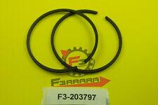 F3-22203797 Serie Segmenti fasce elastiche Piaggio 68,4  APE TM703 - MP 601 Moto