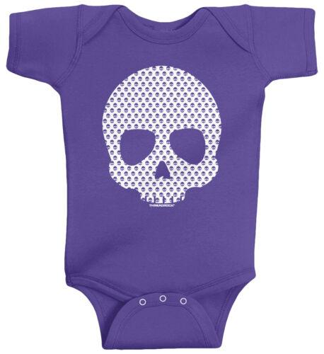 Threadrock Baby Skull Made of Skulls Infant Bodysuit Pirate Biker