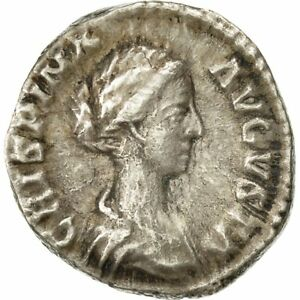 Ric:279 Complete In Specifications Rome Denarius Crispina Ef #490998 40-45 Shop For Cheap 178-180 Silver