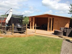 Image Is Loading 16x10 Chester Summer House Shed Combi Tongue And