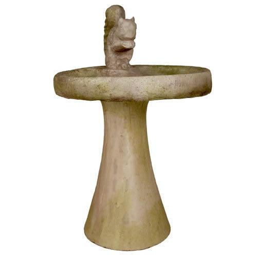 Ardilla Baño Pileta por Orlandi estatuaria de fiberstone fs8836