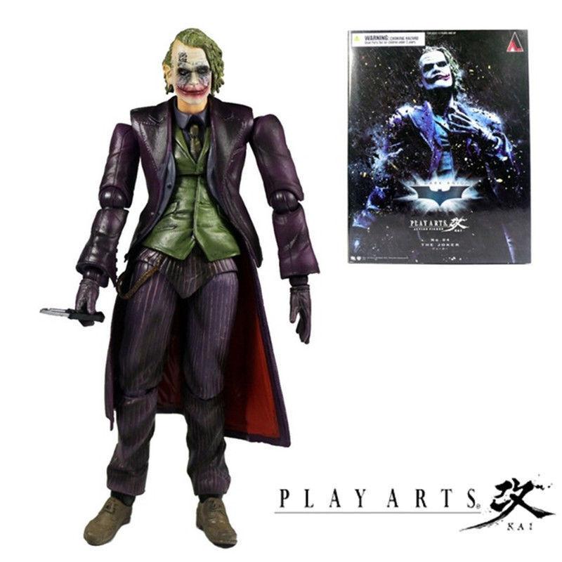 Spielen kunst kai 4 joker batman dark knight steigt arkham herkunft action - figur