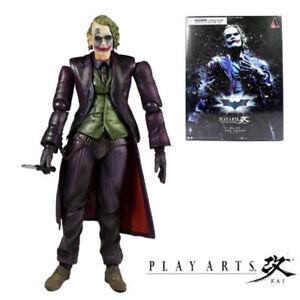 """PLAY ARTS KAI Batman The Dark Knight The Joker PVC Action Figure Colletible 11/"""""""