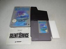 Silent Service NES Spiel komplett mit OVP und Anleitung