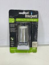 Bernzomatic Ssws100 Specialty Soldering Kit Silver Bearing Lead Free