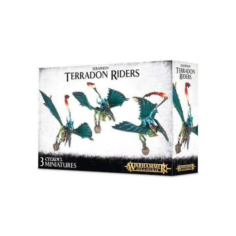 Warhammer edad de Sigmar  Terradon Riders 88-13