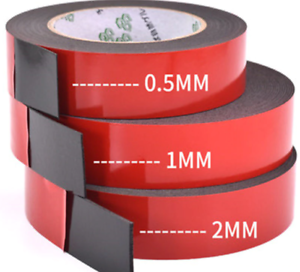 10M-5M Strong Permanent Double Sided Super Sticky Tape Roll Versatile Adhesive