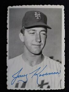 Details About 1969 Topps Deckle Edge Baseball Card 25 Jerry Koosman New York Mets