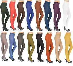 Opaque-Tights-Extra-Thick-40-amp-100-Denier-Womens-Ladies-Sizes-S-M-L-XL