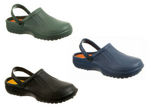 Mens-EVA-Clogs-Slip-On-Gardening-Pool-Shower-Mules-3-Colours-7-to-12