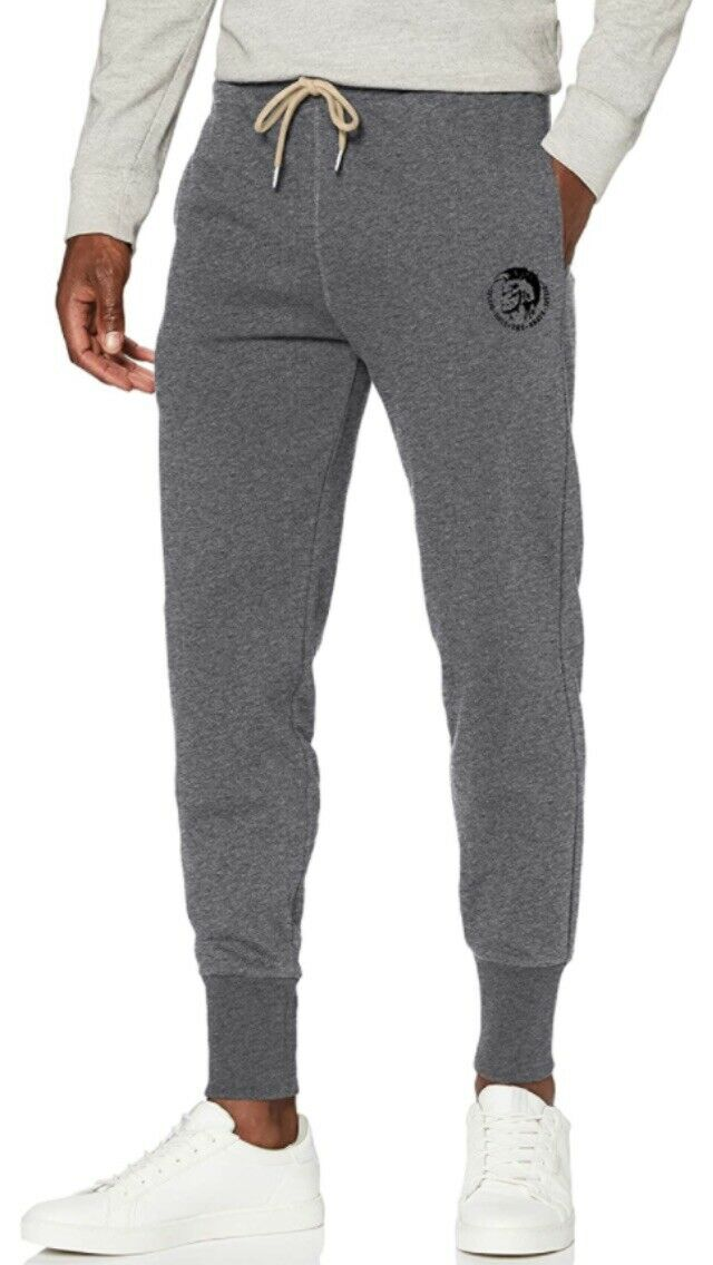 Diesel Joggers Mens Small Grey Jogging Bottoms NEW