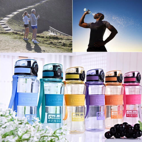 Portable Sport Hydration Water Bottle Running Cycling Hiking BPA Free 3 Sizes