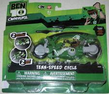BEN 10 Tenn Speed Cycle figure set MOC Tennyson Bandai Alien DNA