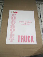 1968 Chevrolet Truck Wiring Diagram Booklet
