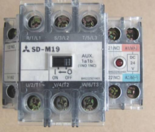 1PC New MITSUBISHI SD-M19 24VDC contactor  RS8