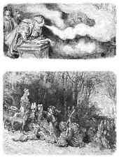 Gustave Dore gigantón Pantagruel 092 A4 Foto impresión