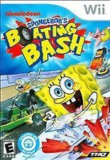 NEW Nickelodeon SpongeBob Boating Bash (Nintendo Wii) BRAND NEW & FACTORY SEALED