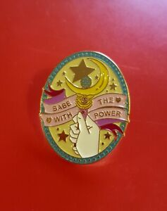 Sailor-Moon-Pin-Babe-With-The-Power-Pin-Cute-Wand-Enamel-Brooch-Badge-Lapel