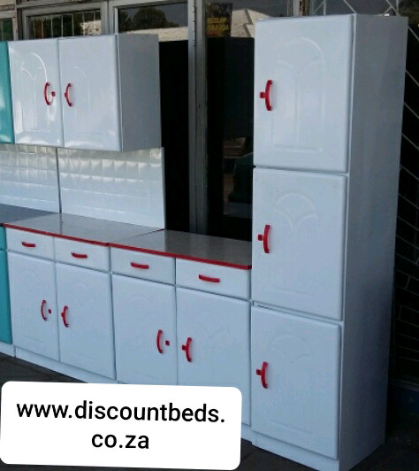 Kitchen Cupboards, new, steel, free standing.