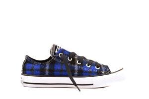 34482da262ca Converse Junior CT OX Sneakers 649984C Blue Black W Size UK 12 RRP ...