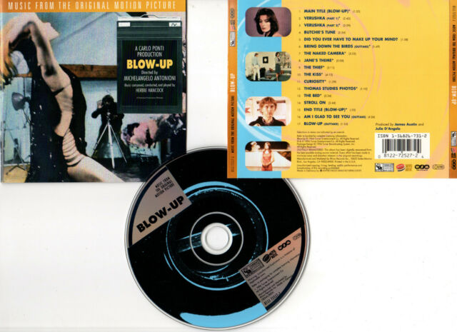 BLOW UP - Redgrave,Hemmings,Miles,Antonioni (CD BOF/OST) Herbie Hancock 1996
