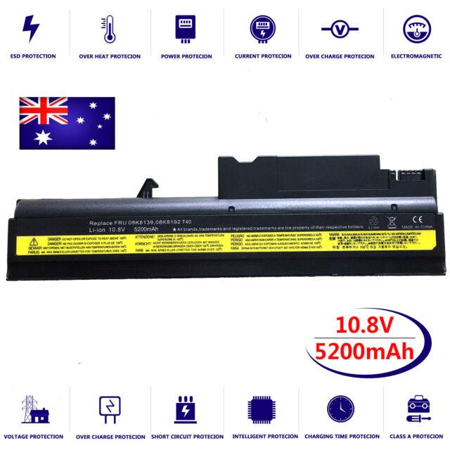 Battery for IBM ThinkPad R50 R50e R50P R51 R51e R52 T40 T40P T41 T41P T42 T42P