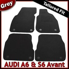 Audi A6 Avant Estate C5 1997-2005 Tailored Fitted Carpet Car Floor Mats GREY